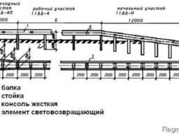 Стойка СД-3 ГОСТ 26804-86 (оцинкованные)