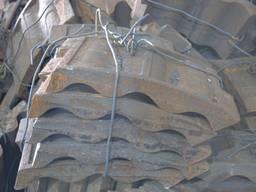 Секция облицовки шаровой мельницы (бронеплита)