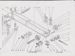 Секция стрелы 6472А-401-30-000 автокран КШТ-50. 01. ..