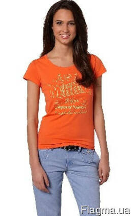 Секонд хенд. Женская футболка А-класс. Новая.