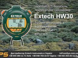 Секундомер Ручной с отображением температуры Extech HW30