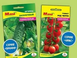 """Семена овощей и цветов ОПТом ТМ""""Май"""" от 0, 60 грн"""