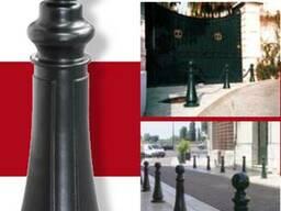 Съемные и фиксированные столбы «Arlésienne» (Франция)