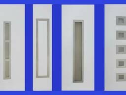 Сендвіч-панелі для металопластикових дверей