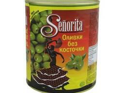 Senorita Оливки без косточки, 3кг оливки Испания