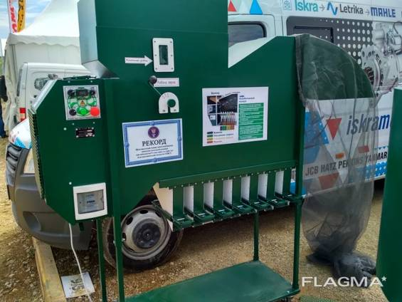 Сепаратор для очистки зерна ИСМ-5 Веялка Калибратор зерна