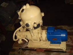 Сепараторы центробежные марки СЦ-1, 5 СЦ-3, центрофуги Огш