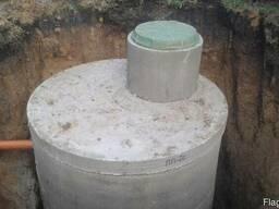 Септик, cливная яма, выгребная яма, канализация