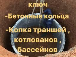 Септик ( сливная яма ) под ключ.