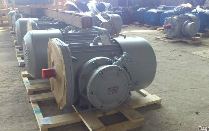 Серия АИУМ225 для привода скребковых и ленточных конвейеров