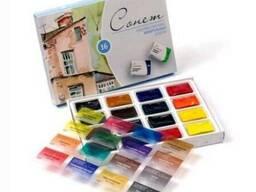 Набор акварельных красок Сонет 16цв.