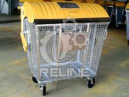 Сетчатый контейнер для раздельного сбора мусора и ТБО