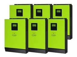 Сетевой солнечный инвертор с резервной функцией 24кВт. ..