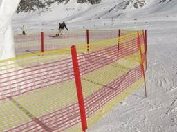 Сети безопасности для горнолыжных спусков