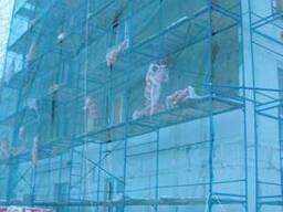 Сетка фасадная 130 г/м², 1, 9х50м, HDPE, blue