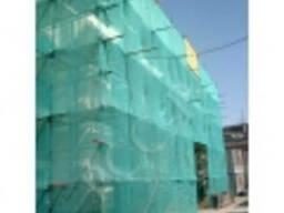 Сетка фасадная для строительных лесов пластиковая 50% затемн