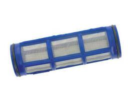 Сетка фильтра линейного 150-160 л/мин 38х125мм, синяя 50 mesh Arag, Италия