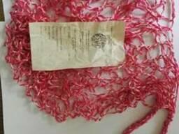 Сетка хозяйственная плетенная из хб пряжи.