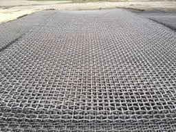 Сетка канилированная оцинкованная яч. 60x60, d 4мм