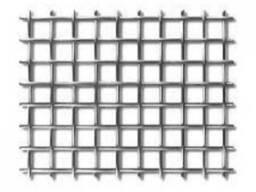 Сетка нержавеющая с квадратными ячейками 0,16-0,12
