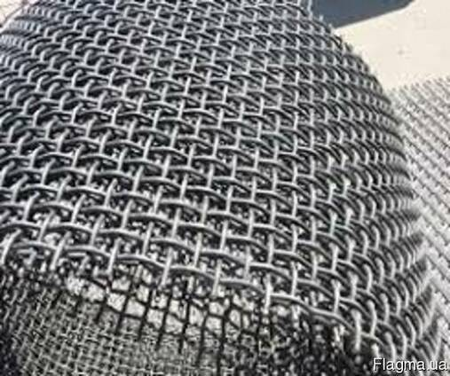 Сетка тканая низкоуглеродистая 6,0х6,0х0,6 мм