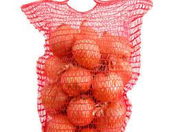 Сетка - мешок овощная 21*39 (до 3 кг) Красная, Фиолетовая