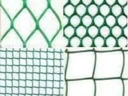 Пластиковые заборные решетки, сетка пластиковая для забора