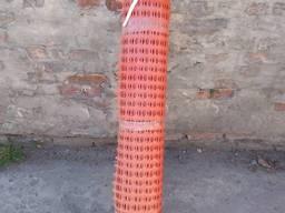 Сетка пластиковая сигнальная для ограждения