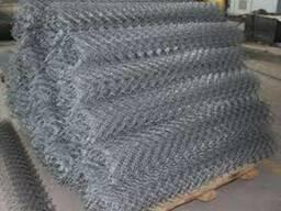 Сетка Рабица оцинкованная 60x60, d 1, 8мм, рулон 0, 6х10м