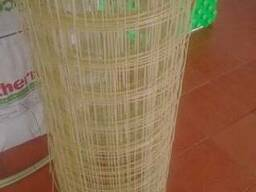 Сетка полимерная армирующая 2мм*50мм*50мм *25м