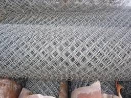 Сетка Рабица черная 60x60, d 1,8мм, рулон 1х10м