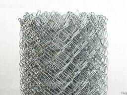Сетка рабица оцинк 50*50*2 h2000мм изготовление купить