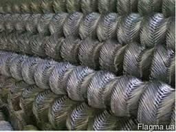 Сетка рабица оцинк. (Ячейка 50х50; Д-1, 6мм; Н-1, 2м). Купить