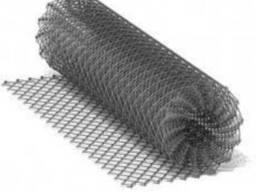 Сетка рабица оцинкованная мелкая #35мм*Ø1.6мм*h1,5м*10м. п.
