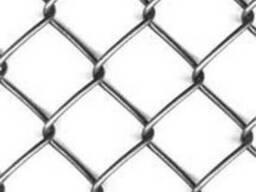 Сетка рабица оцинкованная Толстая #55мм*Ø2.4мм*h1,5м*10м. п.