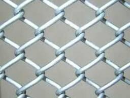 Сетка Рабица стальная плетеная одинарная ГОСТ 5336-80; ТО 14