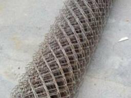 Сетка-рабица, толщина 2,5 мм, высота 1,5м, длина 10м