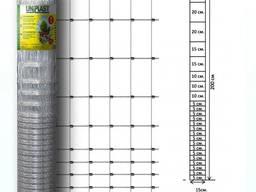 Сетка шарнирная 200/25/15 высота 2.0м длина 50м (облегченная) оцинкованная Унипласт