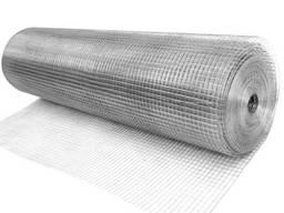 Сетка штукатурная оцинков. 30х1 м, толщ. 0,7 мм (ячейка 25х25 мм)