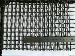 Сетка, сито для грохота Р13-3,0 13х13х3,0мм. Ст.55 ГОСТ 3306