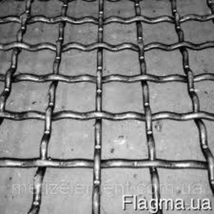 Сетка сложно - рифленая ( канилированная )