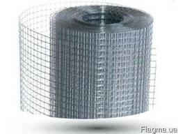 Сетка сварная 25*12 0,7мм н/оц (30 кв. м)