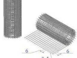 Сетка сварная оцинкованная 12,5х25,0хФ 1,8 мм