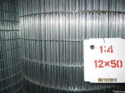 Сетка сварная оцинкованная 12 х 50 / 1,4мм