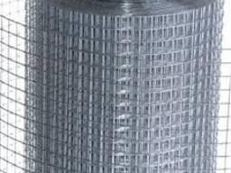 Сетка оцинкованная сварная (горячее цинк) яч. 6х6мм-50х50мм.