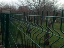 Сетка сварная Заграда Забор секционный Сетка рубеж 3Д ЗАВОД - photo 4