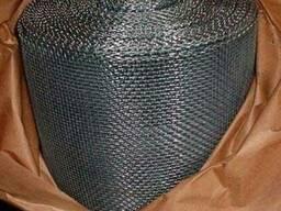Сетка тканая для отсечки бетона 4х4 металлическая черная