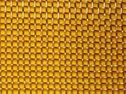 Сетка тканая латунная ГОСТ 6613-86 0, 56-0, 25 100 см