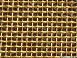 Бронзовая сетка тканая БрОФ яч.0,056-0,04мм