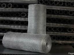 Сетка тканная стальная 12х12х1, 0 мм